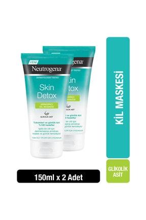 Neutrogena Skin Detox Arındırıcı Kil Maskesi 150 ml x2