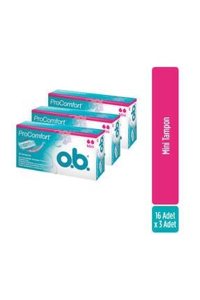 o.b. O.b Tampon Mini 16'lı X3
