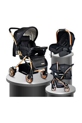 Baby Home Bh-790 Gold Urbo Travel Sistem Bebek Arabası