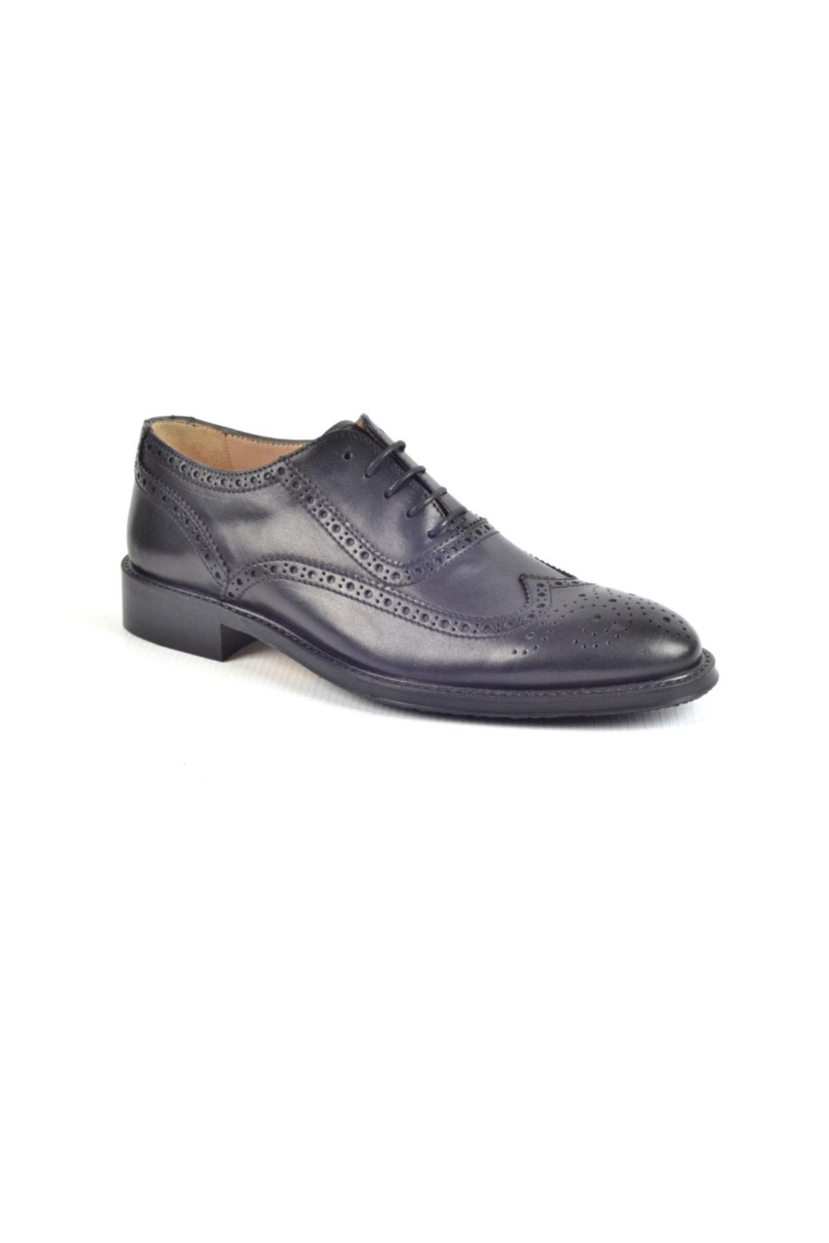 Nevzat Onay Kauçuk Taban Klasik Erkek Deri Ayakkabı 7202-257 1