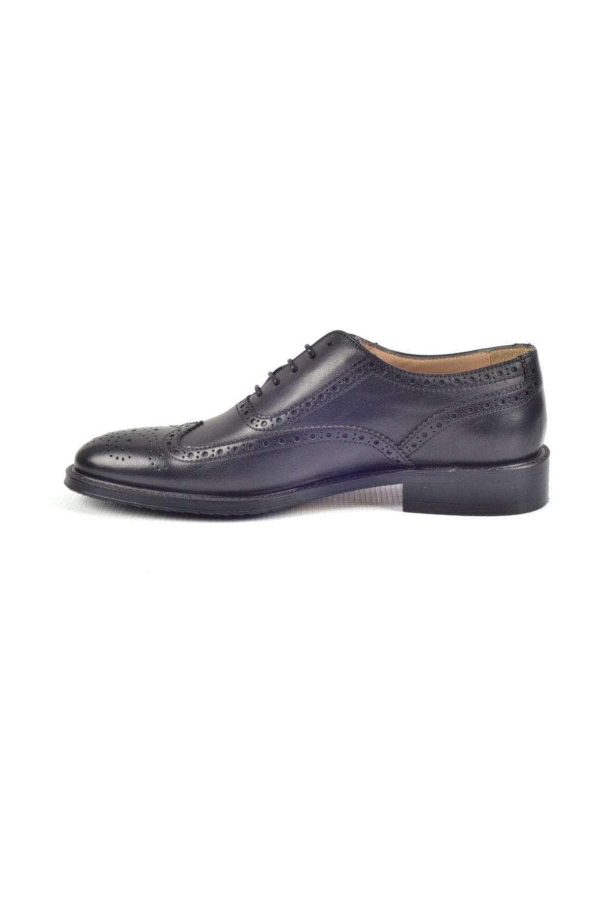 Nevzat Onay Kauçuk Taban Klasik Erkek Deri Ayakkabı 7202-257 2