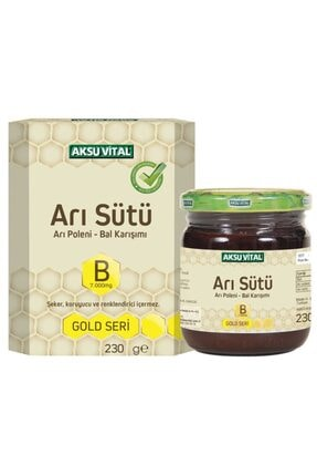 Aksuvital Bitkisel Ürünler Arı Sütü Bal Polen (b) 7.000 Mg - Çocuk