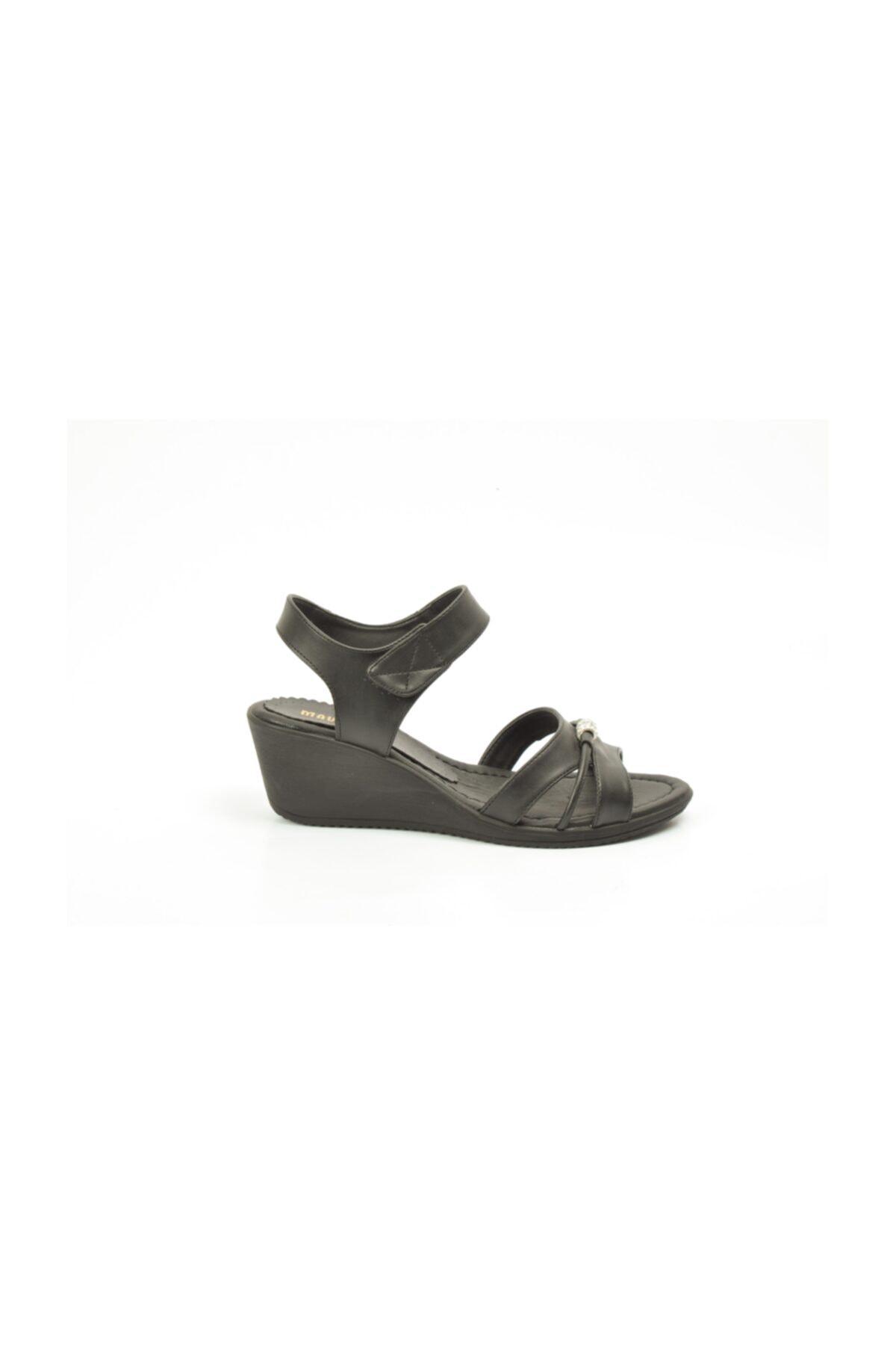Ayakkabin11 Kadın   Dolgu Topuk Sandalet 1
