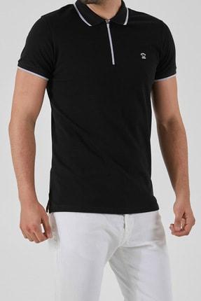 Ltb Erkek  Siyah Polo Yaka T-Shirt 0122084075609440000