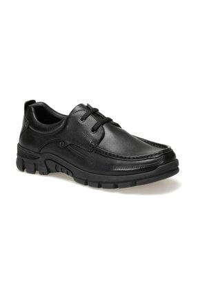 Flogart Hakiki Deri Siyah Erkek Ayakkabı COM-5159