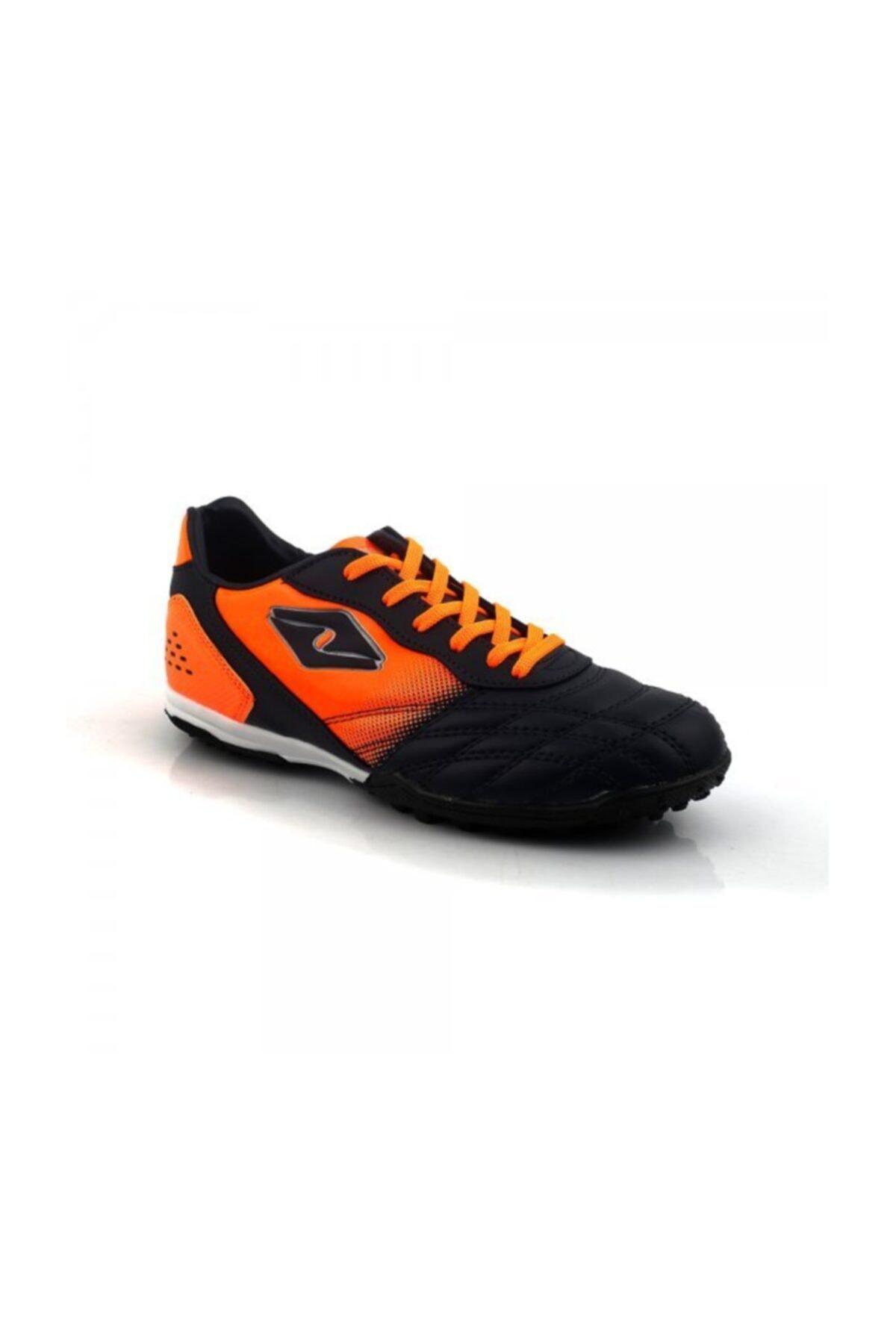 WoW Ayakkabı Lacivert Turuncu Halısaha Ayakkabı 1