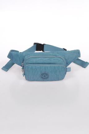 SMART BAGS Buz Mavisi Kadın   Bel Çantası Smb1154