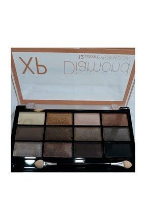 XP Dıamond 12 Colors Eyeshadow
