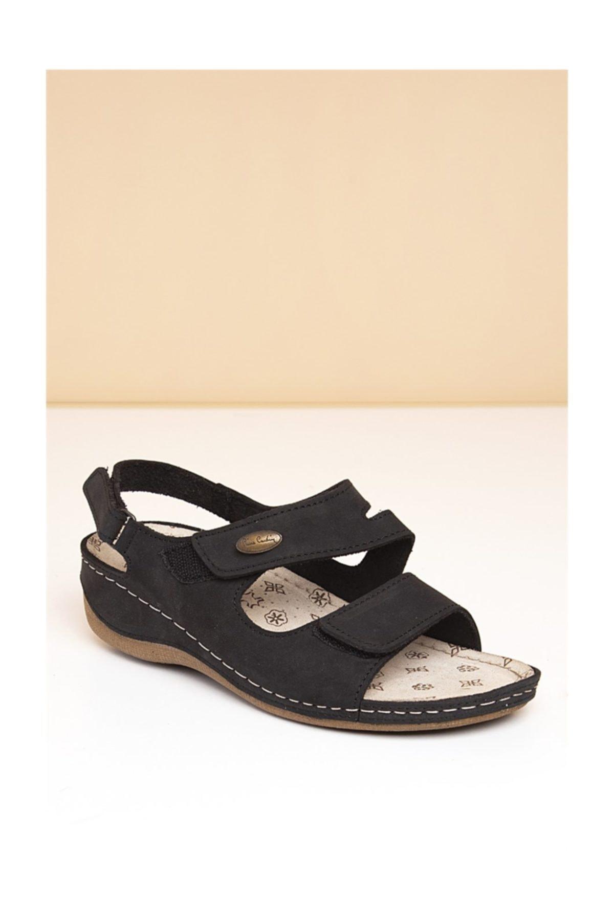 Pierre Cardin PC-2610 Siyah Kadın Sandalet 1