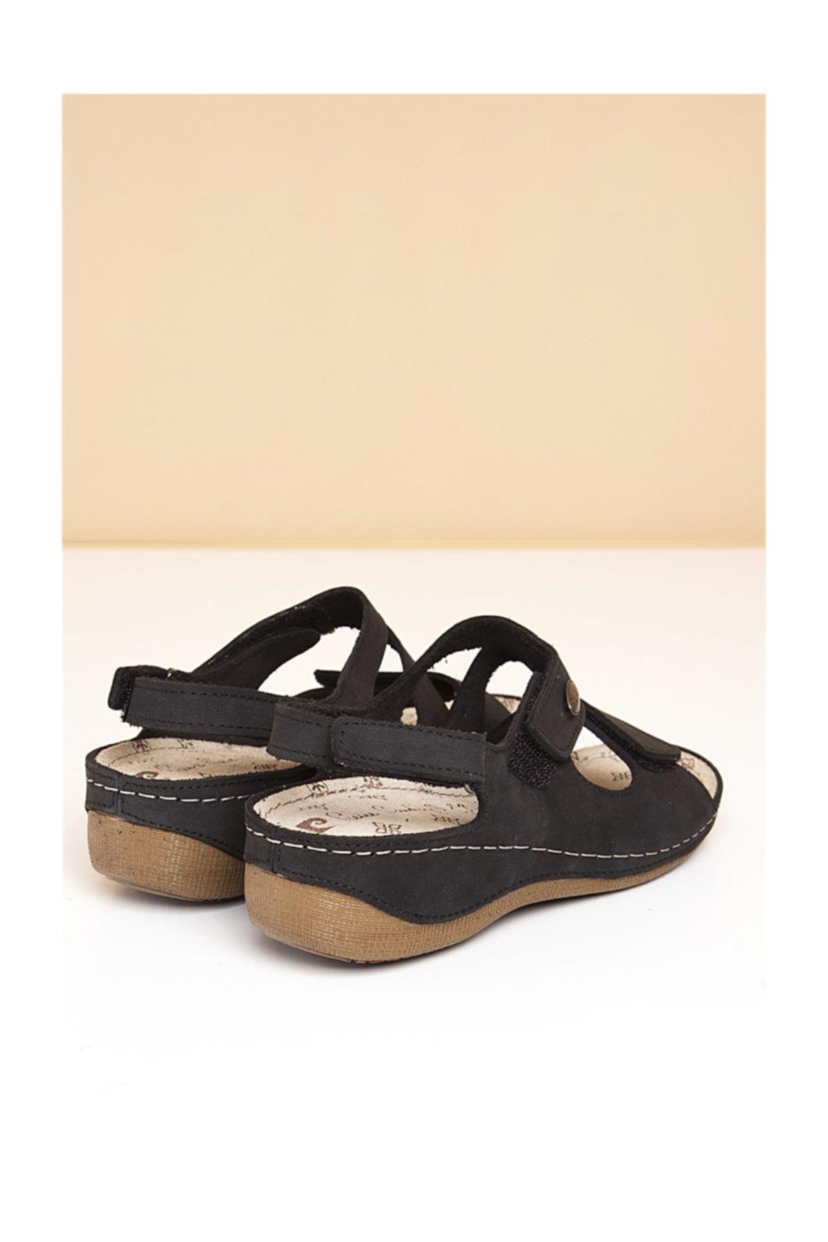 Pierre Cardin PC-2610 Siyah Kadın Sandalet 2