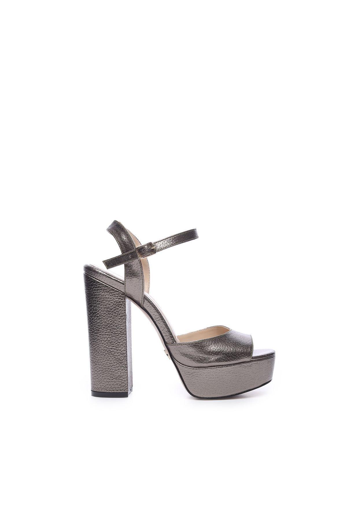 KEMAL TANCA Kadın Derı Topuklu Ayakkabı 539 3104 BN AYK 1