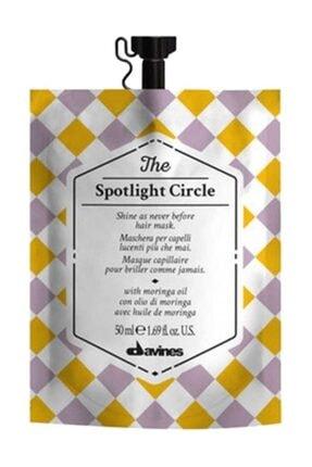 Davines The Spotlight Circle Parlaklık Kazandıran Saç Bakım Maskesi 50 ml 18004608258152