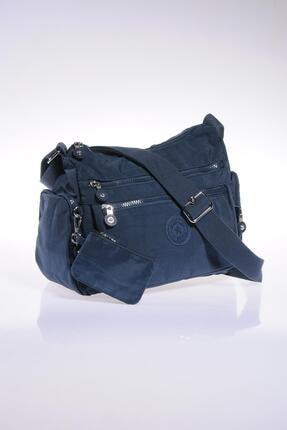 SMART BAGS Kadın Lacivert Omuz Çantası