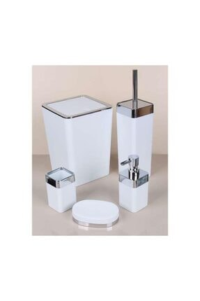 AROW Akrilik Banyo Seti Mat Beyaz