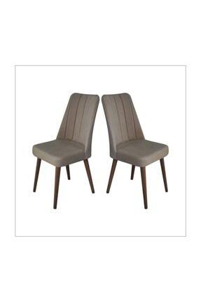 Lüks Kumaş 2 Adet Sandalye