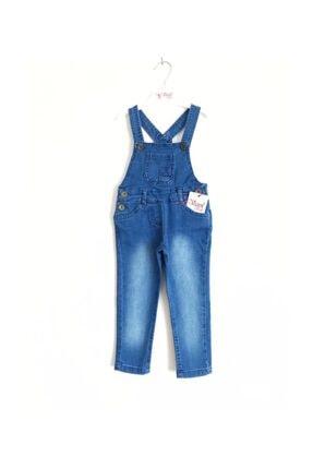 Varol Kids Açık Mavi Kot Pantolon Salopet