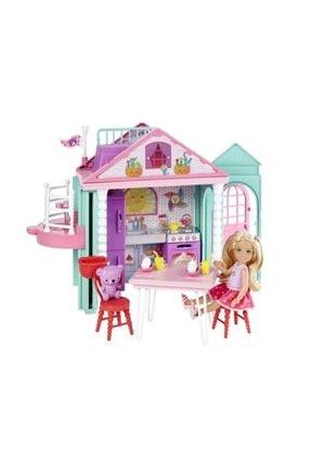 Barbie Barbie Ailesı Chelsea Evi 2 Katlı