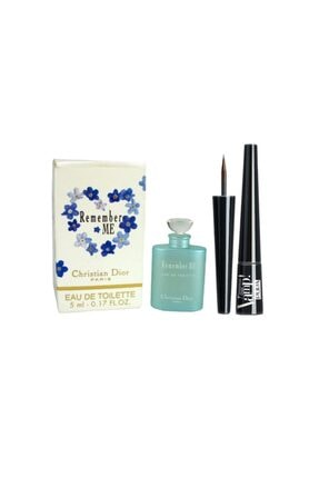 Christian Dior Remember Me Edt 5 Ml Mini Parfüm + Pupa Milano Eyeliner No:100