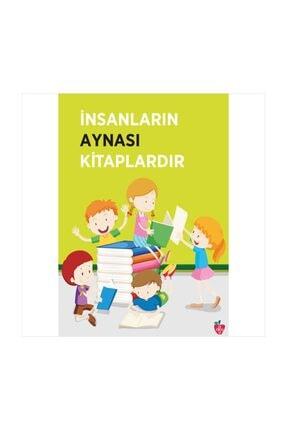 Okulposteri Kitaplar Ve Çocuklar Okul Duvar Afişi (100x140cm Folyo Sticker)