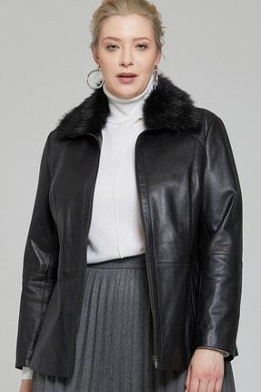 Derimod Samantha-x Kadın Deri Ceket