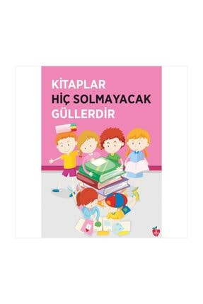 Okulposteri Kitaplar Ve Çocuklar Okul Duvar Afişi (100x140cm Forex-görsel Tablo)