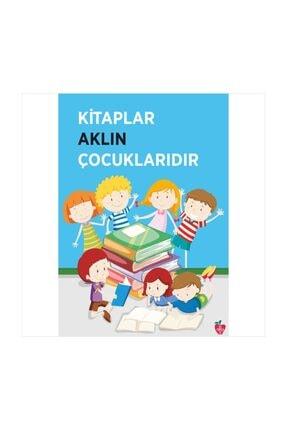 Okulposteri Kitaplar Ve Çocuklar Okul Duvar Afişi (50x70cm Forex-görsel Tablo)