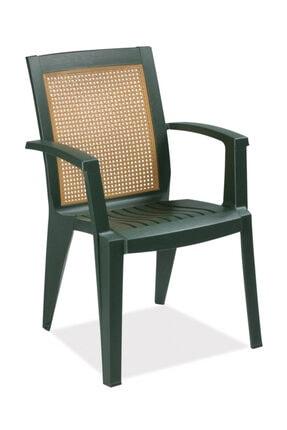 Papatya Sapphire Koltuk Yeşil- Plastik Bahçe Sandalyesi