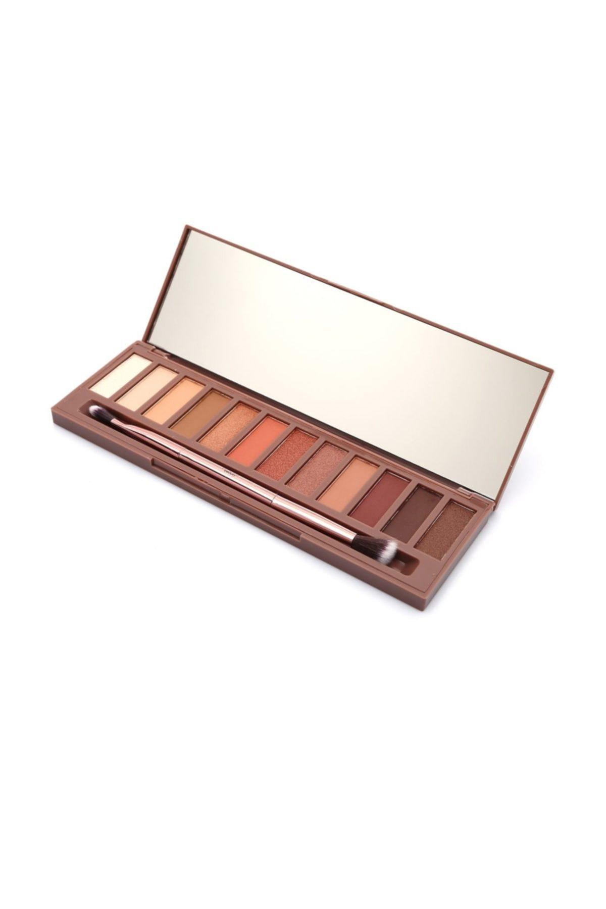 Pretty Beauty 12'li Göz Farı - Naked Heat Eyeshadow Palette Pb 153 8697406107161 1