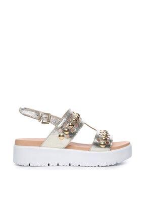 KEMAL TANCA Sarı Kadın Deri Sandalet Sandalet 169 52782 BN SNDLT
