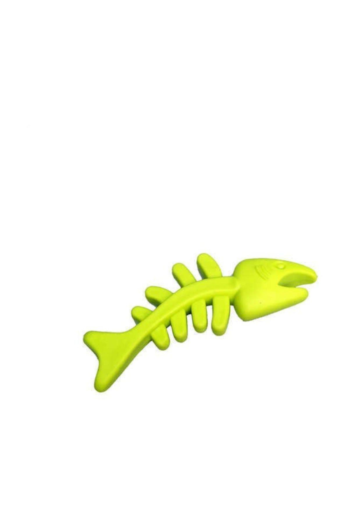 Lion Köpek Oyuncağı Zilli Halter 15 Cm Yeşil 1