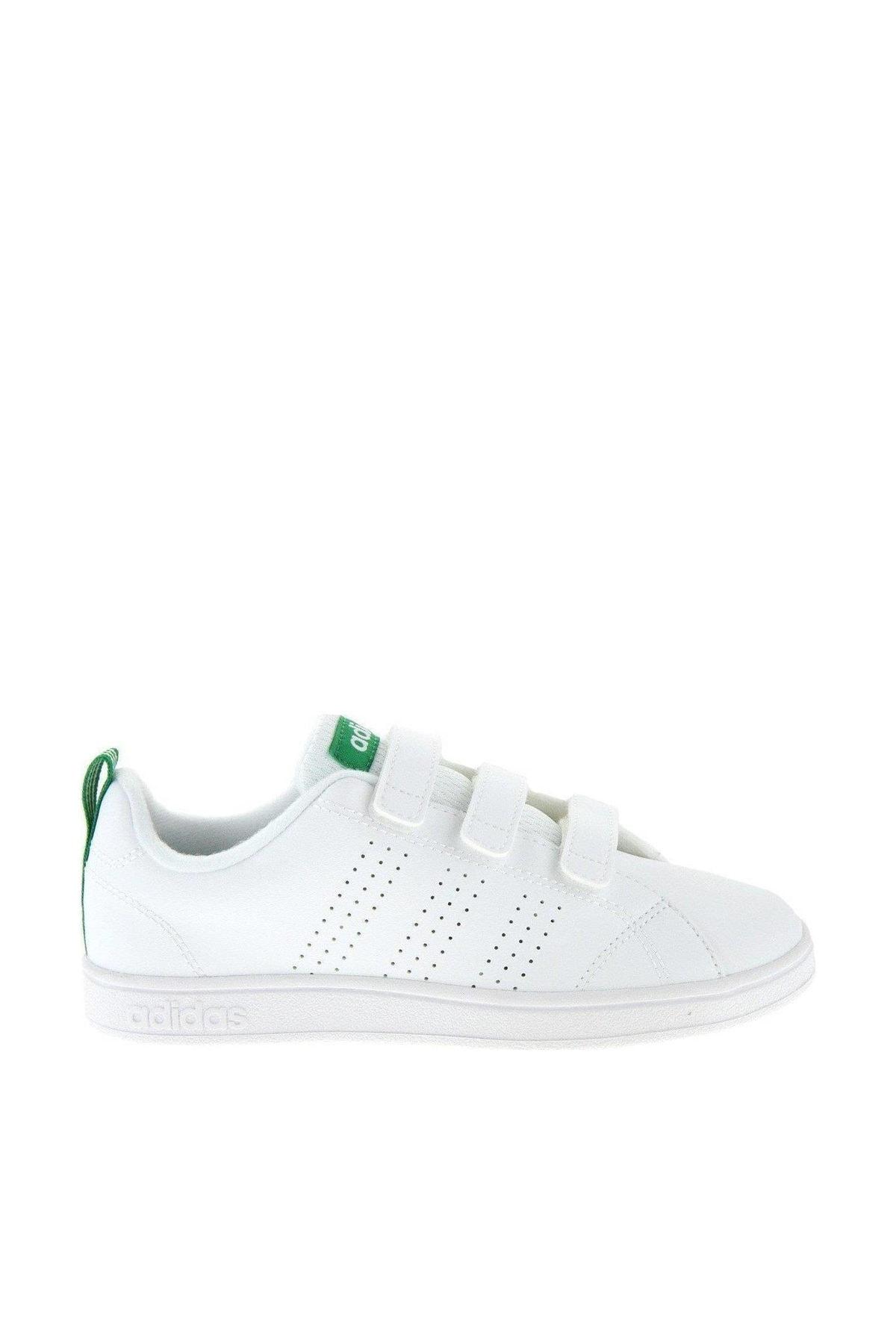 adidas VS ADVANTAGE CLEAN CMF C Beyaz Yeşil Erkek Çocuk Sneaker 100260397 1