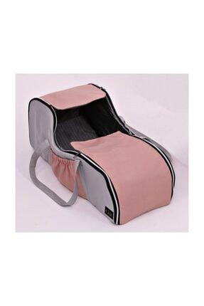 USF Portbebe Ana Kucağı Puset Bebek Taşıma (sıvı Ve Rüzgar Geçirmez) Gri-pembe