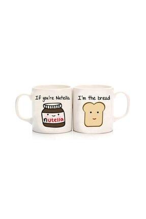 Köstebek Nutella & Ekmek Best Friends Kupa