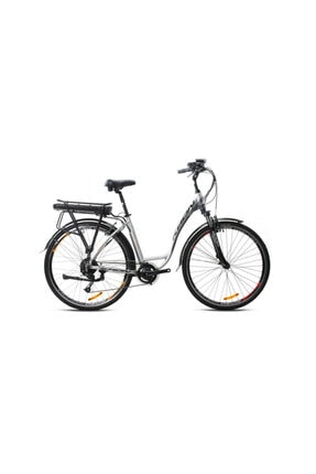 Kron 2020 Etx 1000 Bafang Elektrikli Bisiklet - Şehir Ve Tur Gri-turuncu-siyah-füme 47 cm