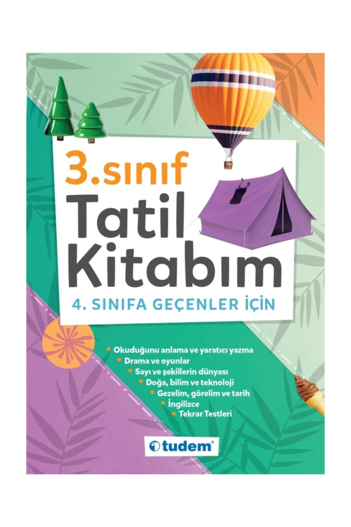 Tudem Yayınları - Ders Kitapları 3.sınıf Tatil Kitabım 1