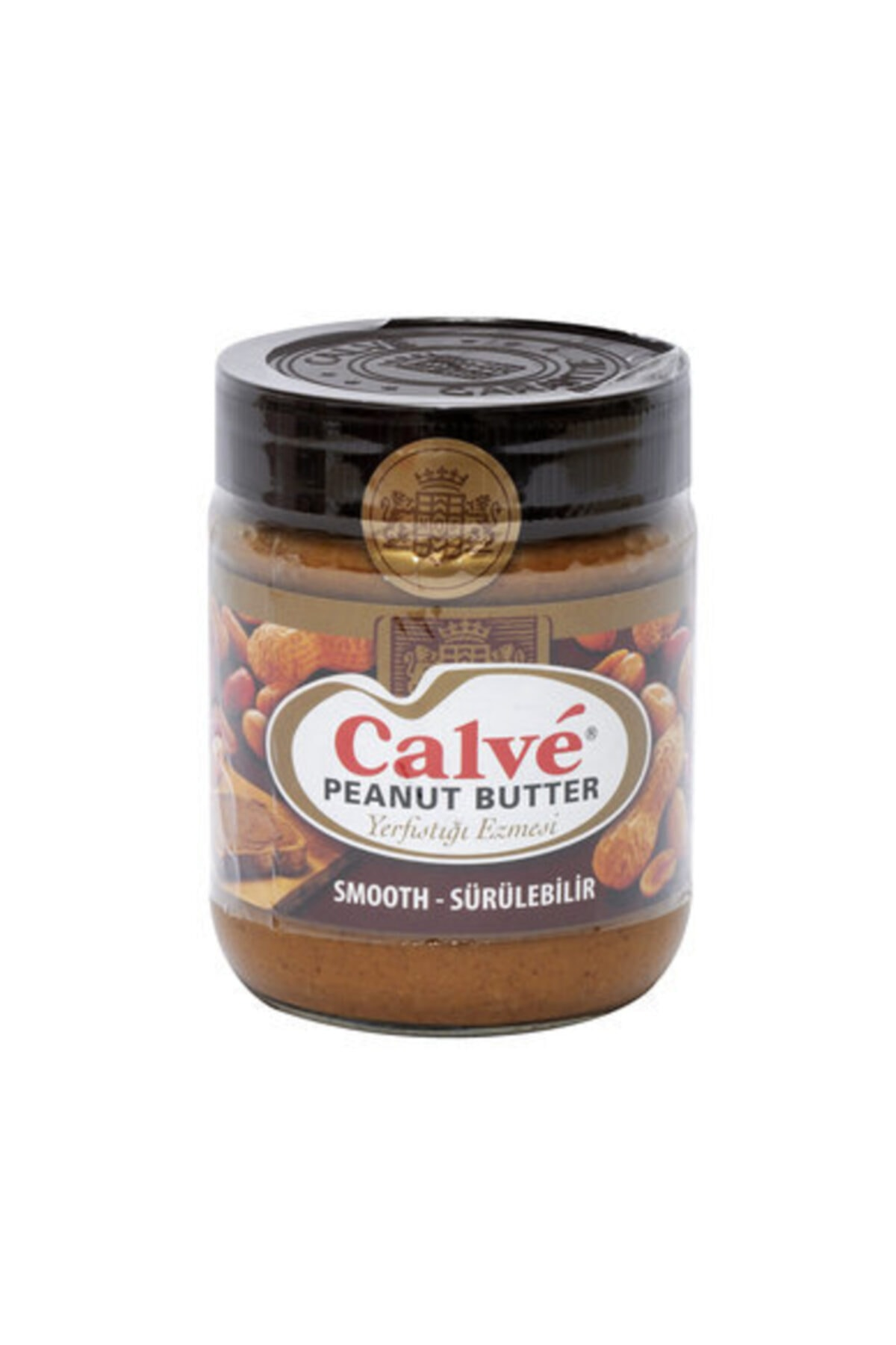 Calve Peanut Butter Sürülebilir Yer Fıstığı Ezmesi 350 gr 1