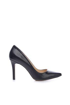 KEMAL TANCA Siyah Kadın Vegan Stiletto Ayakkabı 22 278 BN AYK