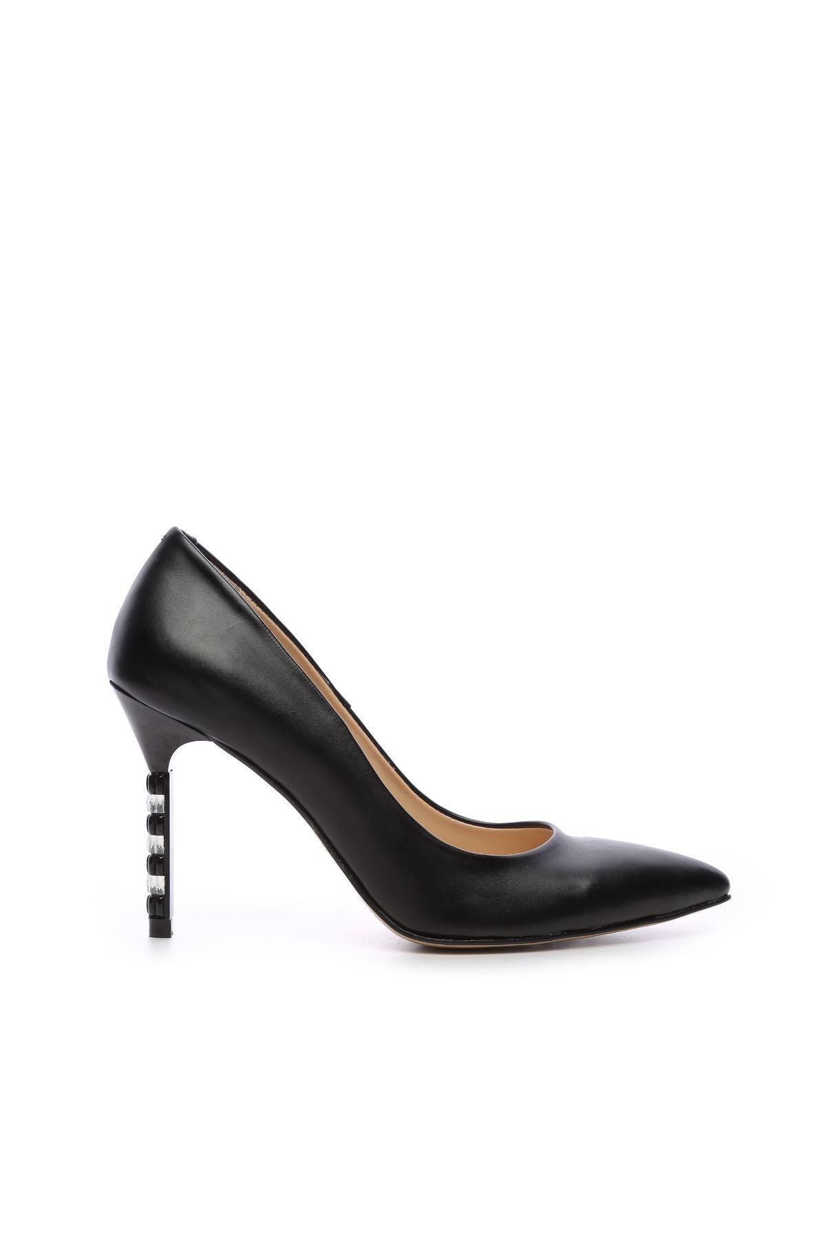 KEMAL TANCA Kemal Tanca Kadın Vegan Stiletto Ayakkabı 22 6224 BN AYK Y19 1
