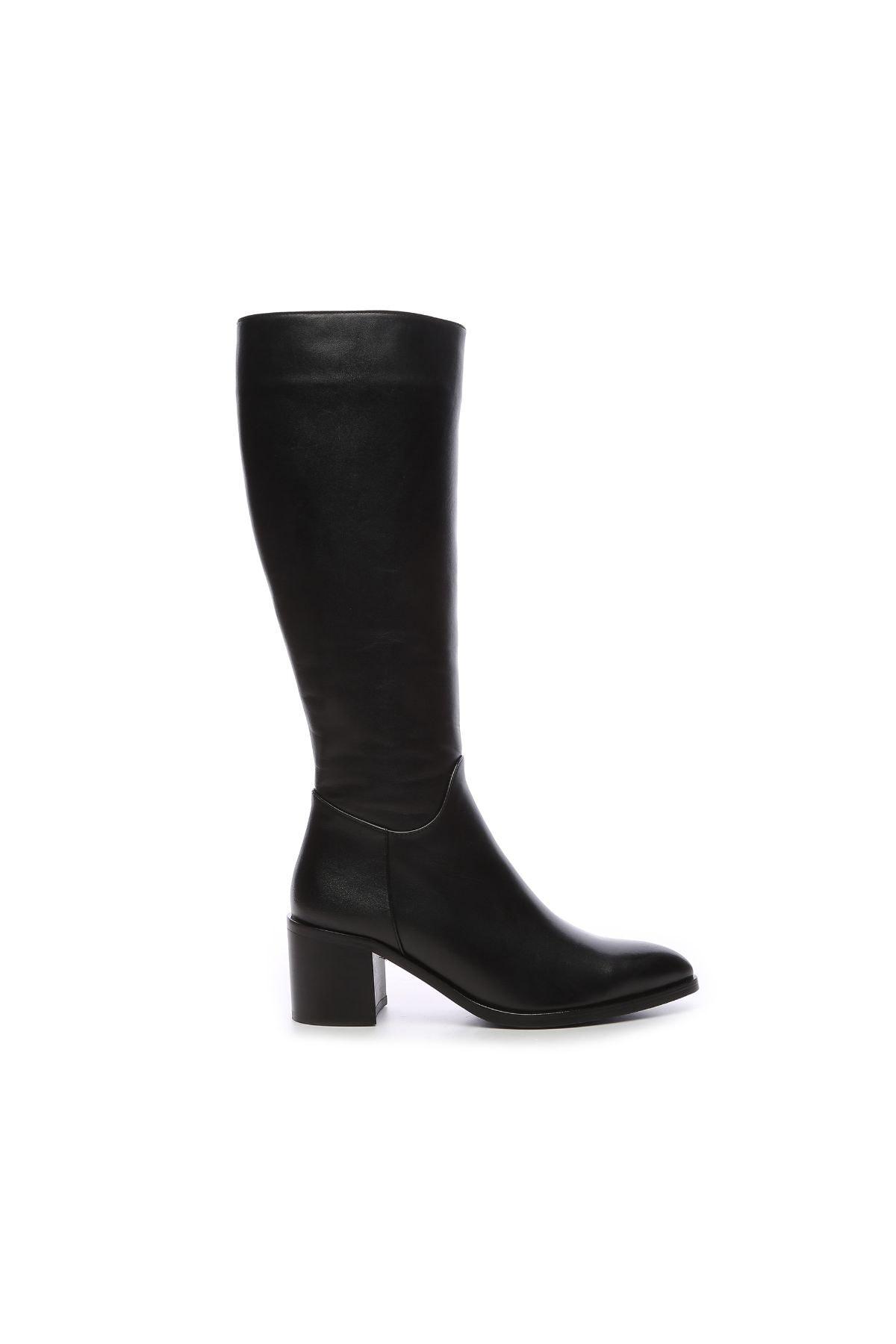 KEMAL TANCA Kadın Derı Çizme Çizme 51 350C BN CZM SK20 1