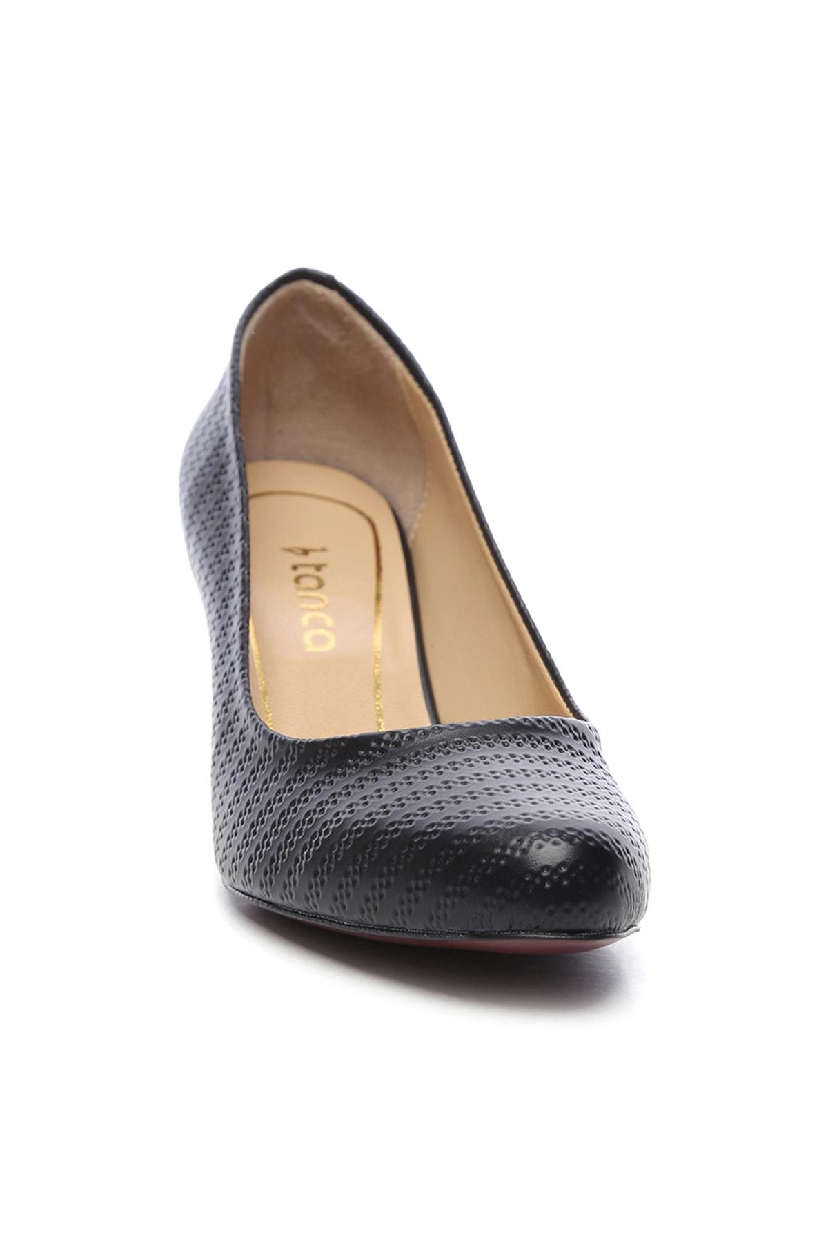 KEMAL TANCA Siyah Kadın Vegan Klasik Topuklu Ayakkabı 723 2032 BN AYK Y19 2