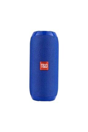 TG Extra Bass Bluetooth Hoparlör Taşınabilir Kablosuz Ses Bombası Mavi