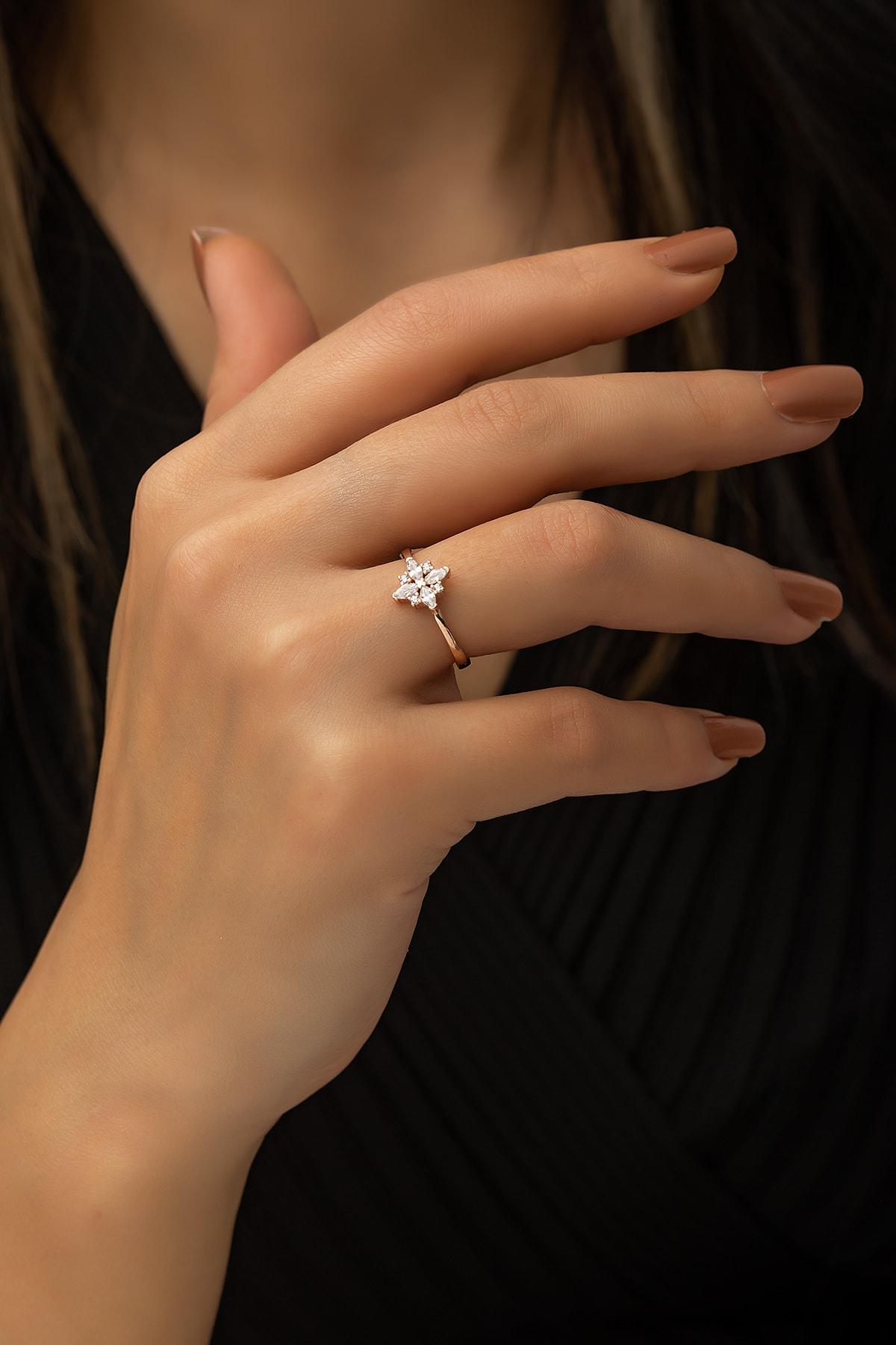 SUNSHINE 925 Ayar Gümüş Trend Yüzük 1