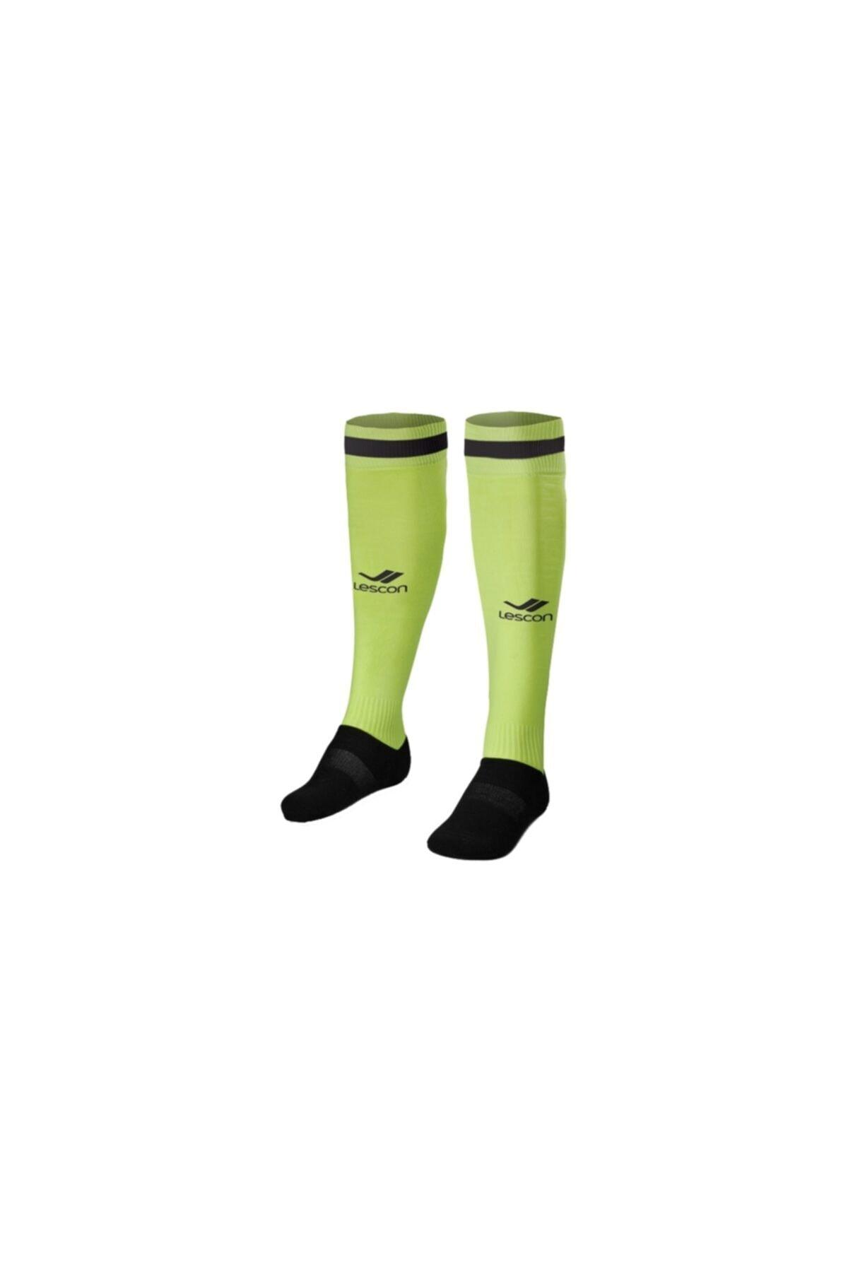 Lescon Unisex Sarı Çorap - 14yke10L2172 1