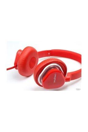 CREATIVE Hitz Ma2400 Kırmızı Renki Kafa Bantlı Mikrofonlu Kulaklık