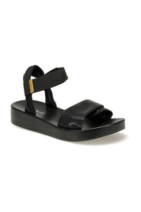 Polaris Siyah Kadın Sandalet