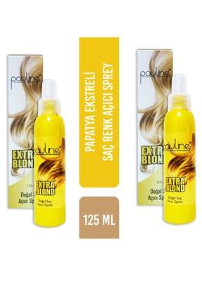 Pauline Doğal Saç Açıcı Sprey 120 ml - 2 Li  Paket