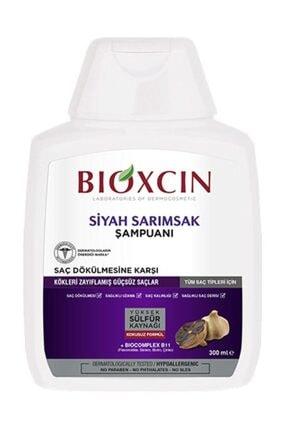 Bioxcin Saç Dökülmesine Karşı Siyah Sarımsaklı Şampuan Quantum 300 ml Kutusuz