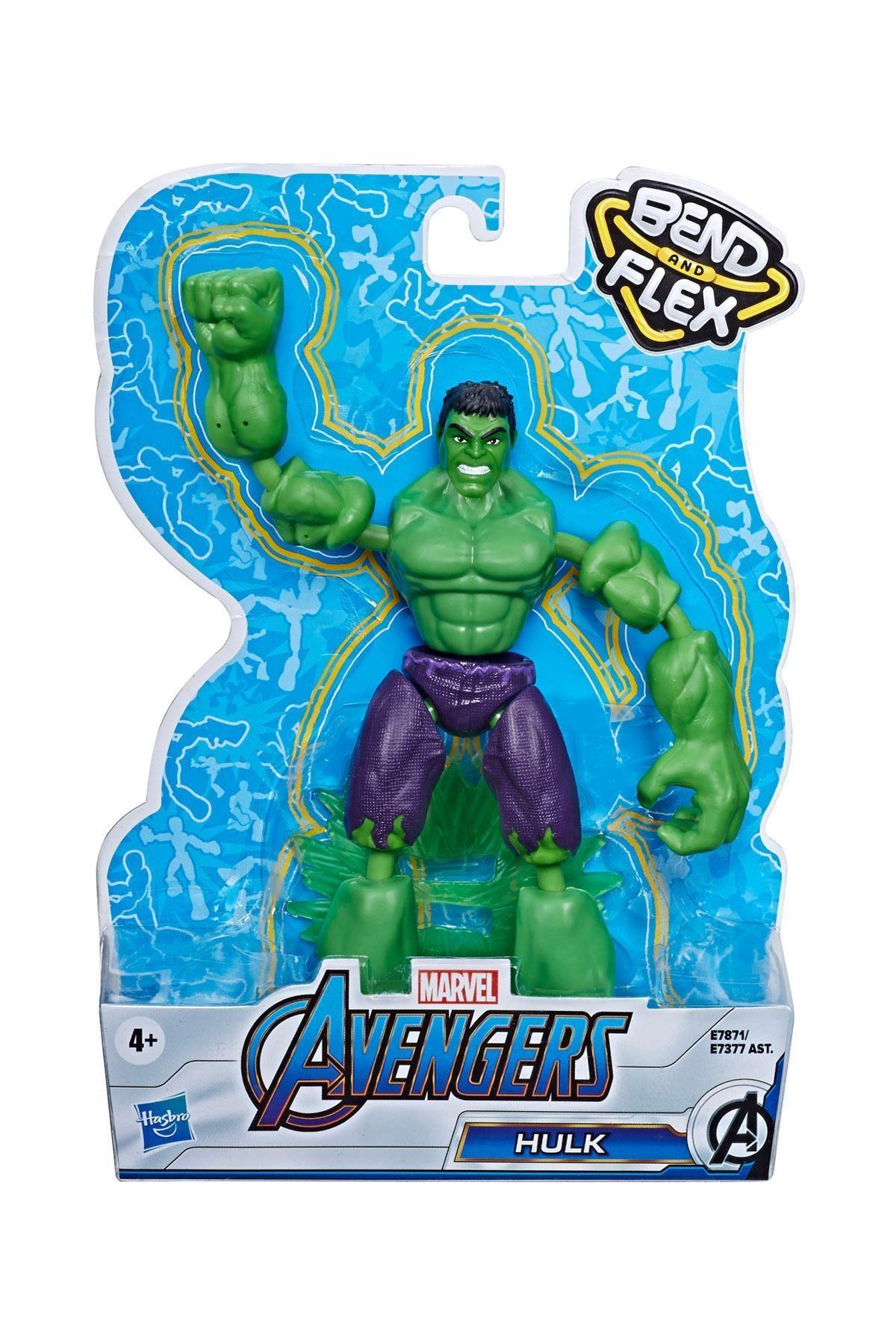AVENGERS Marvel Avengers Avengers Bend & Flex Hulk Figür