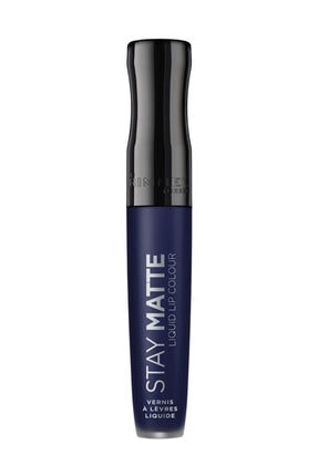 RIMMEL LONDON Ruj - Stay Matte Liquid Lipstick 830 Blue Iris 3614224429386