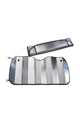 FırsatYeri Katlanabilir Parlak Araba Ön Cam Güneşlik 130 cm X 60 cm
